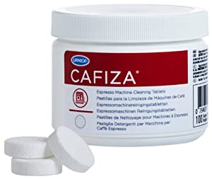 Urnex Cafiza Espresso Machine Cleaning Tablets, 100 Tablets from Urnex