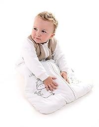 Winter Baby Sleeping Bag Long Sleeves 2.5 Tog - Cartoon Animal - 0-6 months/28inch