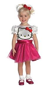 Rubies 211805 Hello Kitty - Hello Kitty Tutu Dress Toddler Costume - Pink - Toddler - 2-4