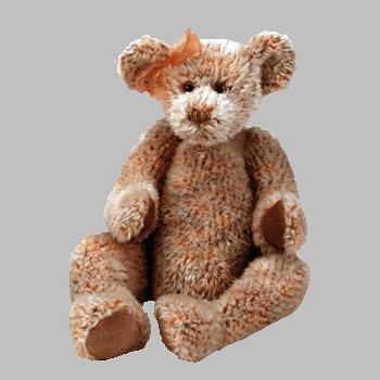 TY Classic Plush - RAZZMATAZZ the Bear (Orange)