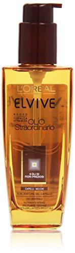 L'Oréal Paris Elvive Olio Straordinario Trattamento Nutriente per Capelli Secchi, 100 ml