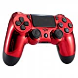 Chrome Red Playstation 4 PS4 Dual Shock 4 Wireless Custom Controller (Color: Chrome Red)