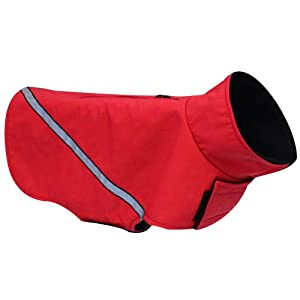 RC Pet Products Whistler Zip Line Version 2.0 Dog Coat, Size 26, Red