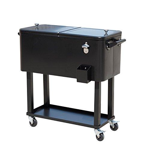 Beverage Cooler On Wheels front-35568