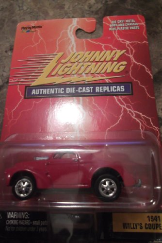 Johnny Lightning 1:64 1941 Willy's Coupe Authentic Die-cast Replicas - 1