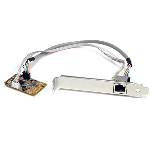 StarTech.com ST1000SMPEX Carte réseau Mini PCI Express Gigabit Ethernet NIC - 1 Port