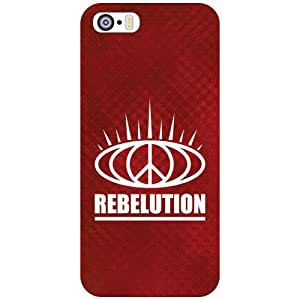 Apple iPhone 5S Back Cover - Rebelution Designer Cases