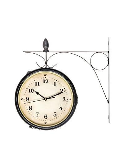 Reloj De Pared Negro