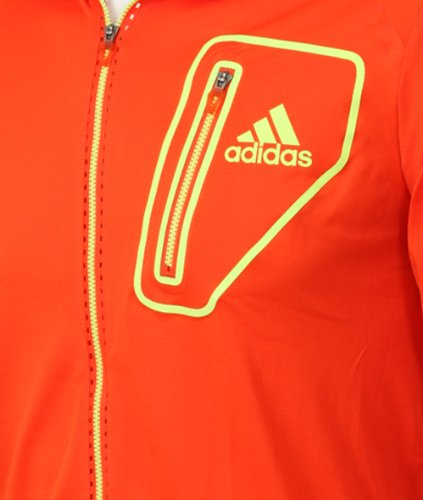 Adidas Mens adizero Tennis Warm Up Zip Jacket
