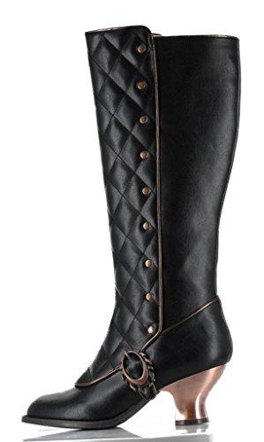 Women's Hades Victoriana Boot Black