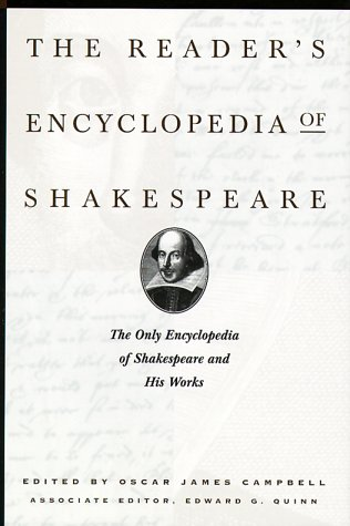 The Reader's Encyclopedia of Shakespeare