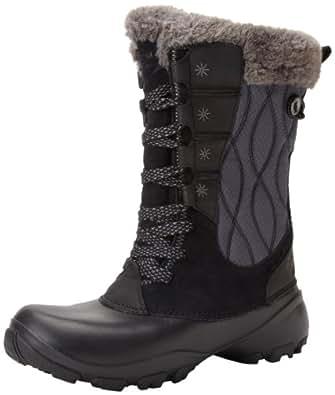Columbia Women's Snow Canyon Omni Heat Winter Boot, Black