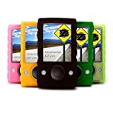 Microsoft Zune Silicone Skin Case W/ LCD Screen Protector & 15 Exercise Armband - 6 Color Options