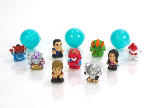 Squinkie Power Ranger 12 Piece Bubble Series 3 - 1