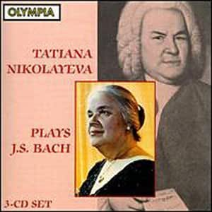 Plays J.S. Bach