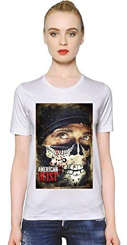 American Heist Frankie T-shirt donna Women T-Shirt Girl Ladies Stylish Fashion Fit Custom Apparel By Slick Stuff XX-Large