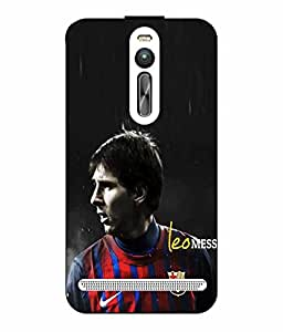 Case Cover Messi Printed Colorful Hard Back Cover For Asus Zenfone 2