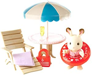 Sylvanian Families Cherrie's Day at The Seaside