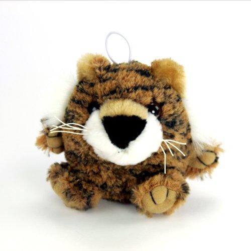 "Purr-Fection Timmy Cushy Critter Tiger 3"" Plush"
