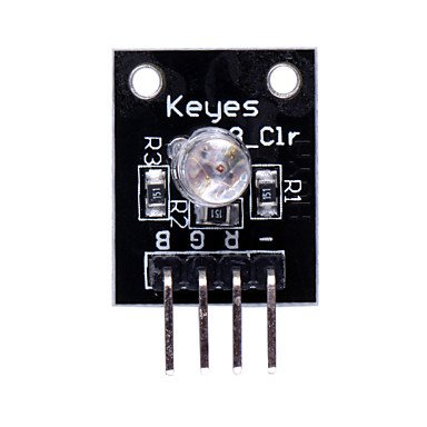 Zcl Rgb 3-Color Led Module For Arduino - Black