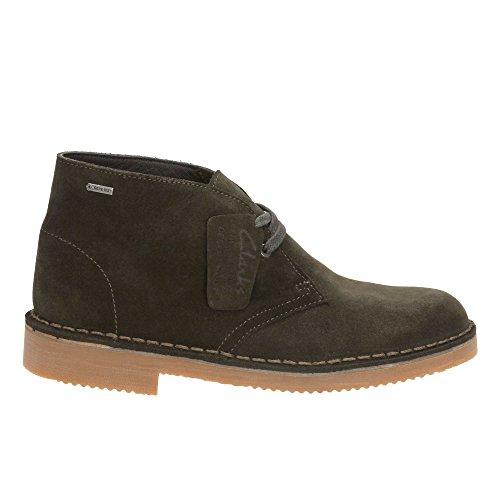 Clarks Originals Détente Femme Boots/Bottes Desertbootgtx. En Daim Vert Taille 41œ