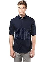 Mens Navy Shirt