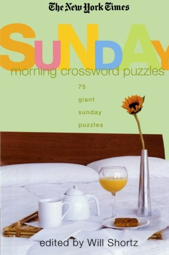 The New York Times Sunday Morning Crossword Puzzles: 75 Giant Sunday Puzzles at Amazon.com