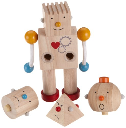 Plan Toys Planpreschool Build A Robot