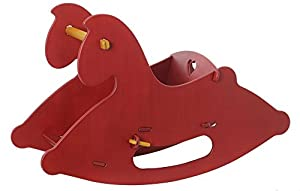 Amazon.com: HABA Moover Rocking Horse, Red: Toys & Games