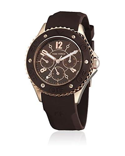 TIME FORCE Reloj de cuarzo TF3301L14 Marrón