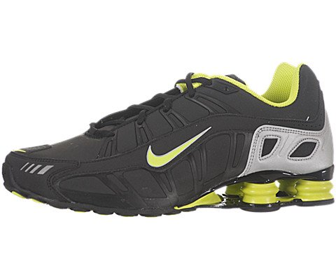 new product fee11 fd9fe Feature of Nike Men s NIKE SHOX TURBO 3 2 SL RUNNING SHOES 10 5 BLACK CYBER METALLIC  SILVER
