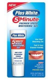 Plus White 5 Minute Whitener Gel - 1 oz
