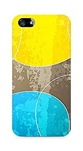 Amez designer printed 3d premium high quality back case cover for Apple iPhone SE (Abstract Color)