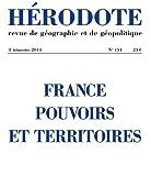 France, pouvoirs et territoires...