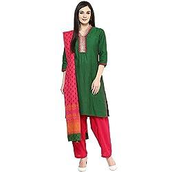 Trishaa by Pantaloons Women's Salwar Kurta Dupatta_Size_XS