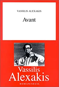Avant par Vassilis Alexakis
