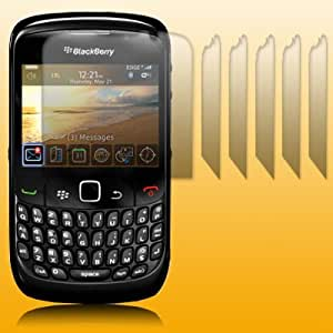BLACKBERRY CURVE 3G 9300 / 8520 SCREEN PROTECTOR PACK OF 6