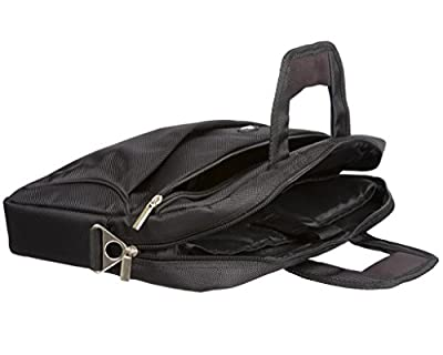 Case4Life 11,6 bis 13,3-Zoll gepolstert Messenger Bag / Tasche für Lenovo Chromebook, Essential M30, Flex 12, Ideapad U330, U330P M30, N20P, S20, Thinkpad X240, Yoga 2, Yoga 2 Pro, Yoga 3 Pro, Yoga 12 - Lebenslange-Garantie