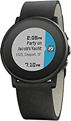 Pebble Technology Corp Time Round 601-00049 Smartwatch (Black)