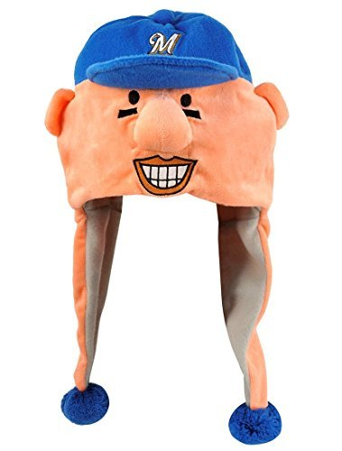 MLB Milwaukee Brewers Thematic Mascot Dangle Hat- Sausage #4, Hot Dog by Forever Collectibles (Milwaukee Brewers Cycling compare prices)