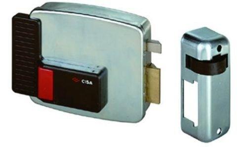 Cisa 11520-40 Serratura Elettrica per Cancello 11611, Entrata Sinistra, 60 mm