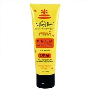 The Naked Bee Sunscreen SPF 30 Vitamin C Orange Blossom