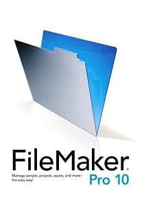 FileMaker PRO 10 簡易パック版 日本語完全対応