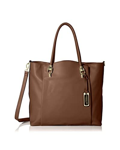 London Fog Women's Carson Tote, Nutmeg