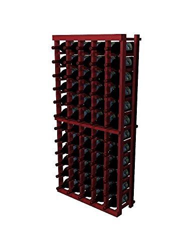 Winemaker Series Wine Rack 5 Column 4 Ft Pine