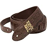 Ernie Ball Brown Python Designer Guitar Strap