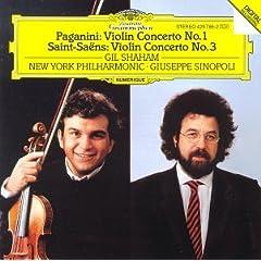 Paganini: Concerto for Violin and Orchestra No.1/Saint-Saëns: Concerto for Violin and Orchestra No.3