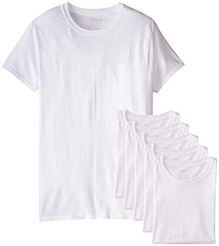 Fruit of the Loom Mens 6Pack TALL White Crewneck T-Shirts Undershirt XLT (Fruit Of The Loom Undershirts Xlt compare prices)