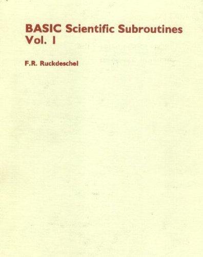 Basic Scientific Subroutines