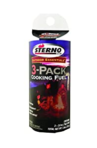 Sterno 2.6-Ounce Outdoor Cooking Fuel, 3-Pack at Sears.com